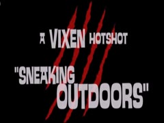 ArtofZoo - Vixen Sneaking Outdoors Hot