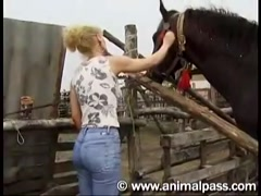 Animal Pass - English Woman And Horse