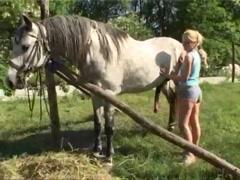Alice with horse 8 - Alice NewStar - Bestialitysextaboo