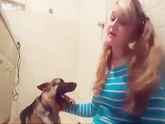 Girl Gives 10 Reasons Why You Should Have Sex With Dogs