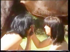 Really hot girls with horse